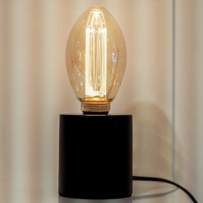 tafellamp zwart metaal