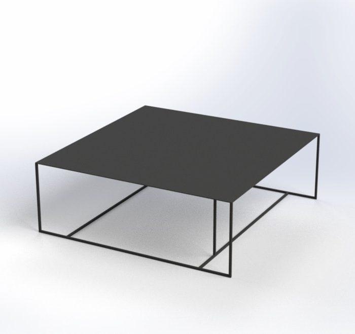 salontafel 100 100 35 stainiq